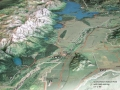 Solid Terrain Model Grand Teton