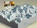 Solid Terrain Model Mt Everest