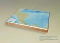 Solid Terrain Model Honduras Nicaragua